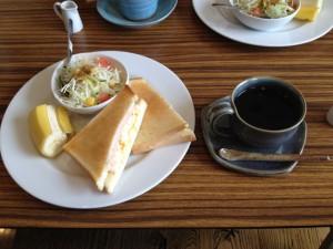 cafe HANABI モーニング